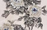 於非闇畫家《似錦的花叢 雅靜的靈秀》