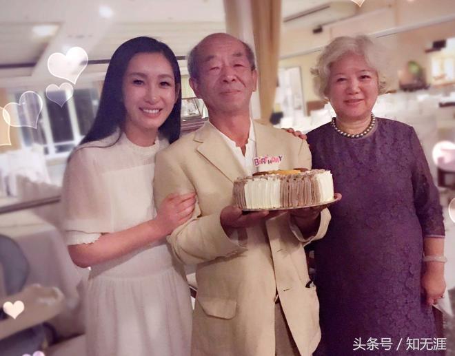 秦海璐帶父母來愛琴海旅遊,見證父母40年愛情