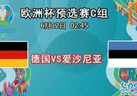 歐洲盃預選賽C組,德國vs愛沙尼亞,德國誓取勝
