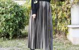 27歲的模特為啥顏值爆表?是本尊顏值高,還是半身裙的魅力?