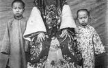 歷史老照片:清朝光緒末年的貴婦,個個都是大餅臉!