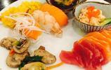 金秋時節,海鮮盛宴的時候到了,帝王蟹腿,三文魚,不限量隨便吃