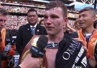 帕奎奧被霍恩打的頭破血流!霍恩取代帕奎奧成為新一任拳王!