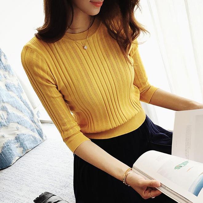 嫂子是個時髦精,一入秋就買洋氣針織衫這幾款真心讓人心動,吸睛