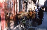 1986年的北京,罕見生活老照片,那個年代的衚衕小院