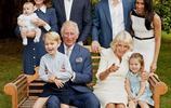 查爾斯王子70大壽全家福,其樂融融讓人忍不住回憶,有戴妃的合影