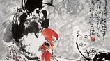 林成翰畫家《半夜雄雞即自鳴》
