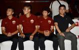 上港俱樂部於海、王燊超、孫祥與李聖龍參加品牌簽約儀式