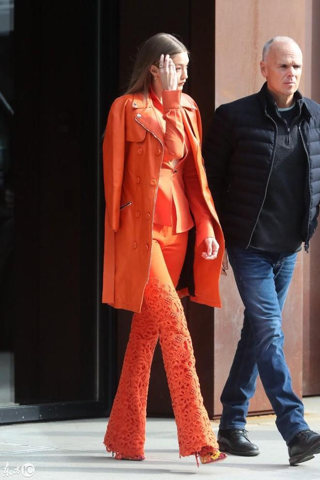 超級名模吉吉·哈迪德(Gigi Hadid)現身街頭