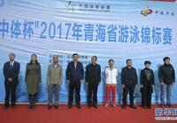 2017年青海省游泳錦標賽開賽 181名游泳愛好者泳道中競速