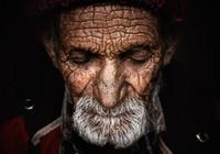 喜馬拉雅山下的長壽老人