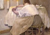 美國印象派畫家羅伯特·裡德