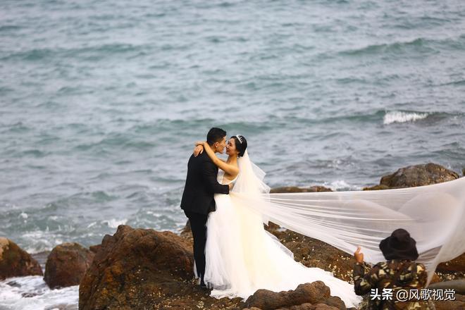 """""""五一""""正逢婚紗攝影迎旺季,三亞為眾多遊客婚拍首選目的地"""