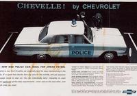 雪佛蘭與警車的那些事 五六十年代經典雪佛蘭警車盤點