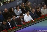 """歐冠大戰後,皇家馬德里與馬德里競技的""""網球王子""""共聚一堂"""