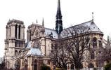 太慘了!美麗盛大的巴黎聖母院大教堂,就這麼被一場大火吞噬了。