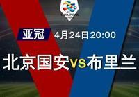 競彩足球週三007亞冠杯:北京中赫國安 VS 武裡南