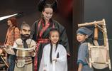 萬聖節媽媽帶仨小毛孩扮演《倩女幽魂》,獲二等獎
