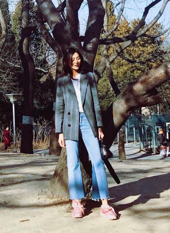 大表姐劉雯的少女心