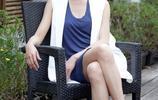 萬茜這二郎腿坐姿美了,你這個坐姿是因為腿太長嗎?