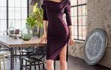紫羅蘭的裙襬,挺拔高挑