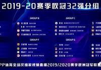 2019-2020歐冠分組出爐,你認為哪一組能稱得上死亡之組?