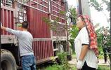 家有百萬的農村女子跟車卸載化肥,如此吃力圖的是什麼?