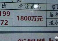 如果一個彩民因為一天沒有堅持而錯失了1800萬,是一種什麼感覺?