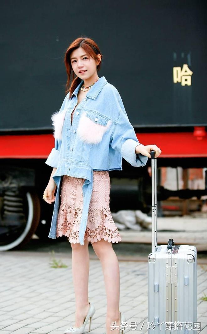陳妍希穿蕾絲連衣裙,粗胯肥臀!網友:產後如少女?你們太誇張!