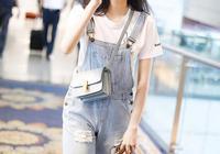 歐陽娜娜2017年6月19日上海機場街拍:清純素顏就是少女最美好的樣子啊