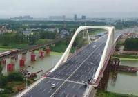 阜陽市向陽路潁河大橋正式通車
