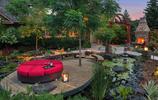 史上最美魚池庭院,設計師真的是把魚池的美感做到了極致