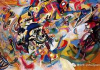 抽象繪畫——康定斯基點、線、面理論