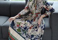 """突然發現:今年流行""""民族風連衣裙"""",滿滿的復古文藝氣息"""