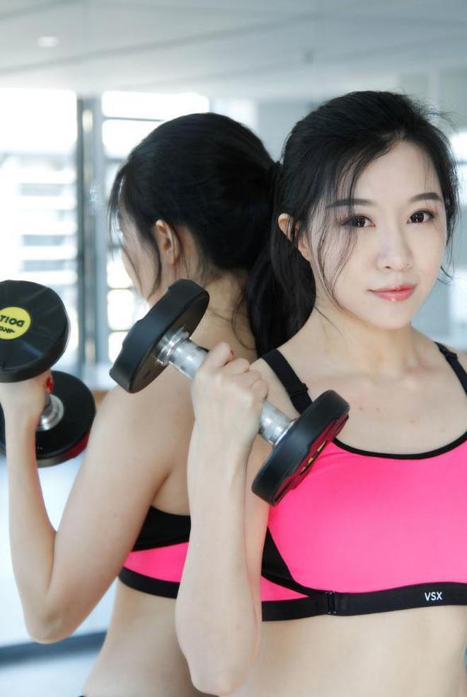 健身房元氣少女