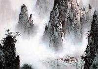 """身居鬧市,不染浮塵,他的山水畫清新寧靜,盡顯""""白派山水""""之美"""