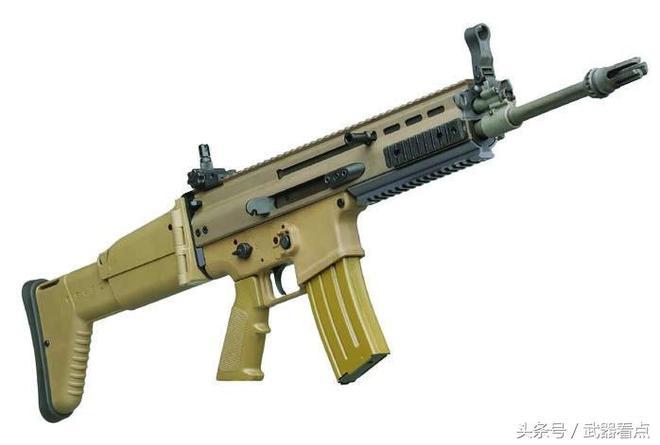 """軍事丨在阿富汗 """"綠色貝雷帽"""" 成員,最喜歡裝備的步槍"""