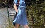 娜塔莉·波特曼一身牛仔裙,女神胖了!