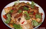 蘿蔔乾炒豬肉,素炒蕨菜吃糯米飯,廣西壯族人家簡單的一餐
