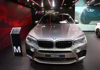 寶馬BMW X6 M,價值192.8萬轎跑車,車展實拍!