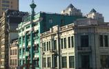 哈爾濱尚志大街上的百年老建築