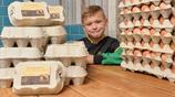8歲少年用88元創業 靠賣雞蛋一年預計賺11萬