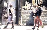 上色老照片:上世紀60年代紐約經濟大衰退 滿大街都是失業的人
