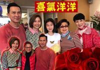 張家輝夫婦帶女兒給老戲骨拜年 關詠荷和女兒的顏值搶鏡
