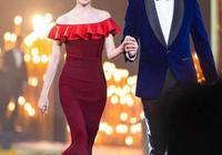 董潔又換新發型,一襲曳地藍裙低調走紅毯,精緻好氣質優雅又高級