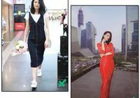 沒有違和感的搭配法則,迪麗熱巴的長裙凸顯身材,倪妮同款都養眼