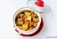 凍豆腐和它一起,就是年後刮油菜了,人人都可做出來