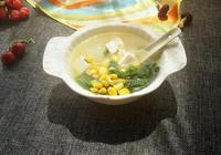 冬瓜豆腐玉米粒湯