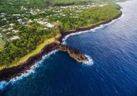 航拍留尼汪,印度洋中的冒險島