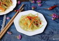 涼拌萵苣絲的做法